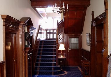 Old Yorkshire Bank Bottom Main Office Staircase 010304 563